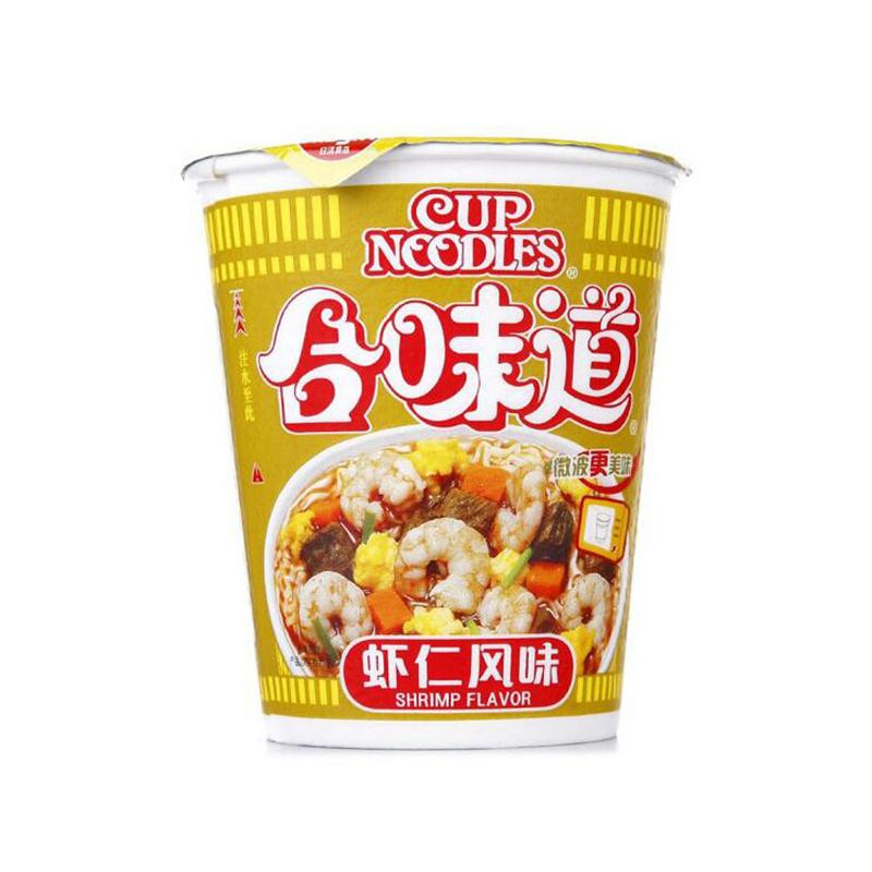 NISSIN日清 合味道虾仁风味杯面 82g