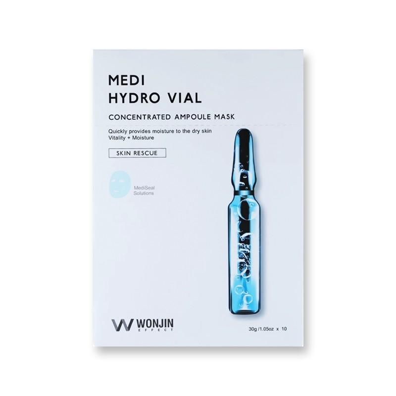 韩国WONJIN EFFECT原辰 透明质酸安瓶补水面膜 单片入