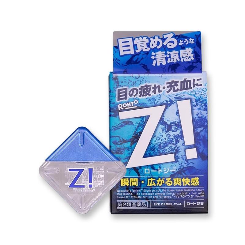 日本ROHTO乐敦 RohtoZ!乐敦劲 蓝魅眼药水 隐形眼镜专用 13ml