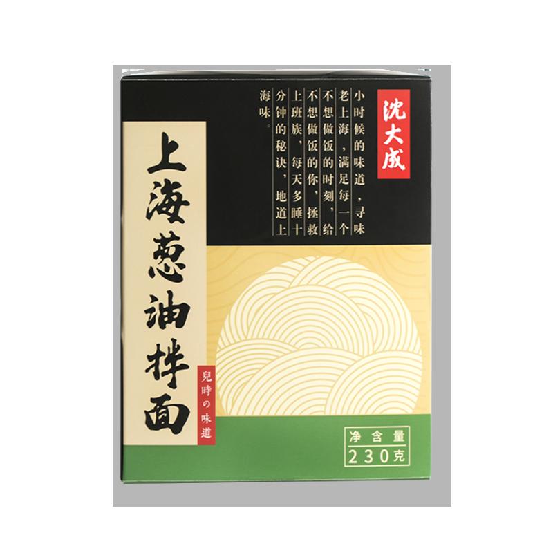 上海特产 沈大成葱油拌面 230g