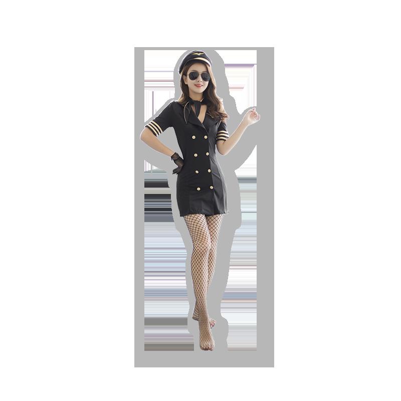 Feimu uniform temptation stewardess captain role play uniform temptation passion suit