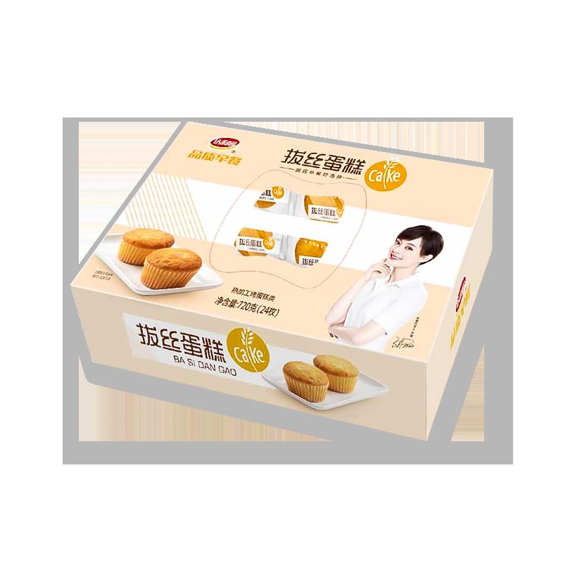 达利园 品质早餐拔丝蛋糕 720g