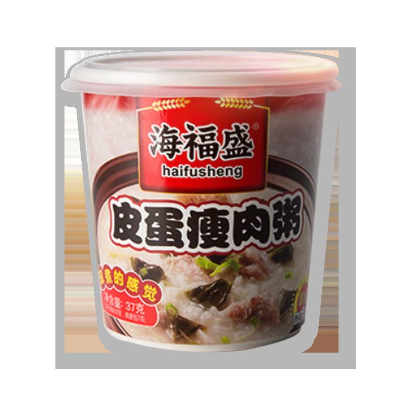 海福盛 皮蛋瘦肉粥 37g