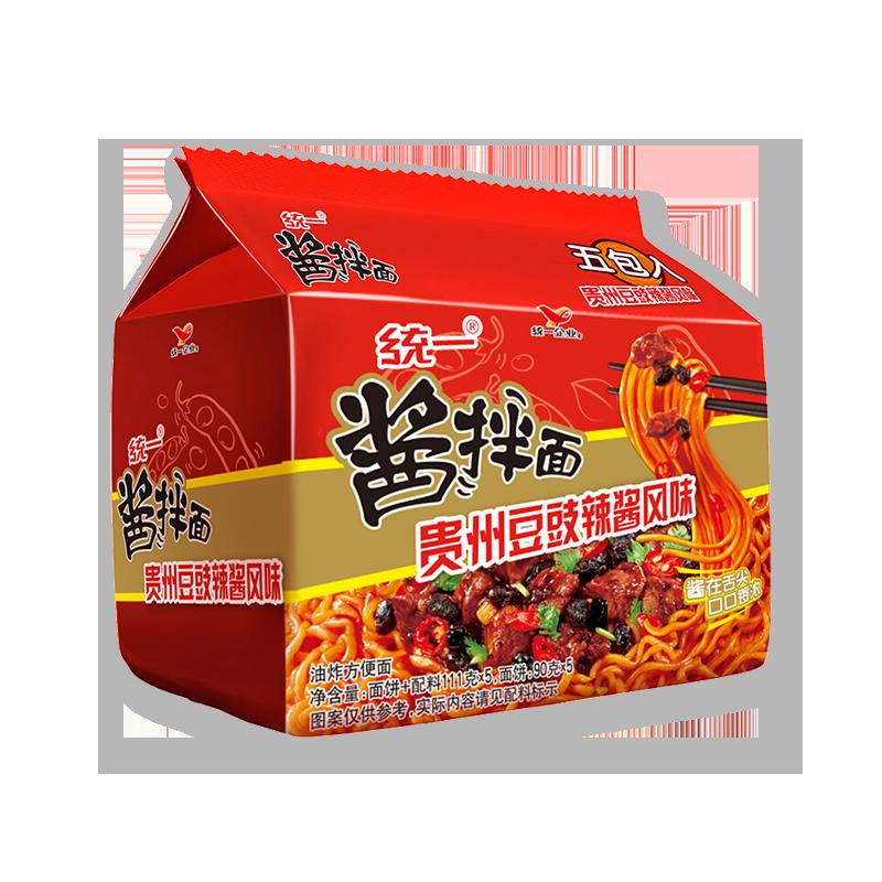 统一 酱拌面 贵州豆豉辣酱风味 111g*5