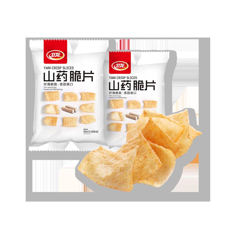 卫龙 山药脆片 香辣味 40g