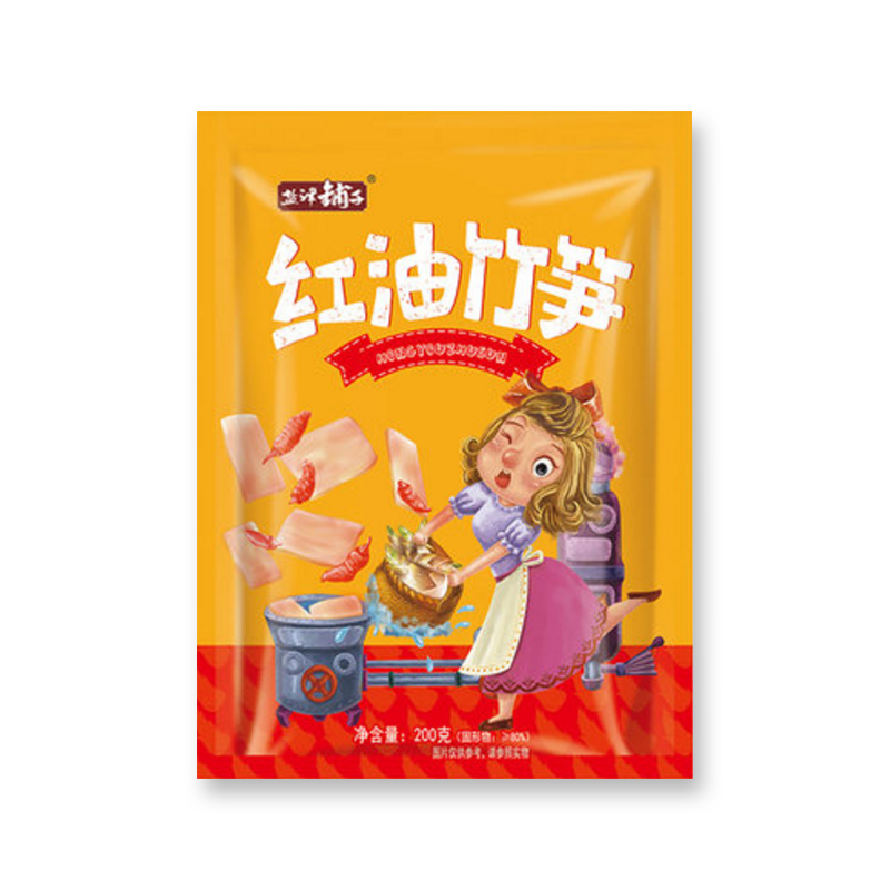 200 g bamboo shoots with red oil in Yanjin Puzi