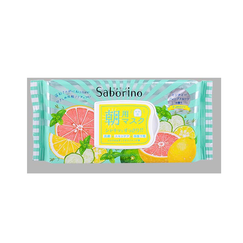 【日本直邮】日本BCL SABORINO 60秒懒人早安面膜 限定清爽型 32枚入