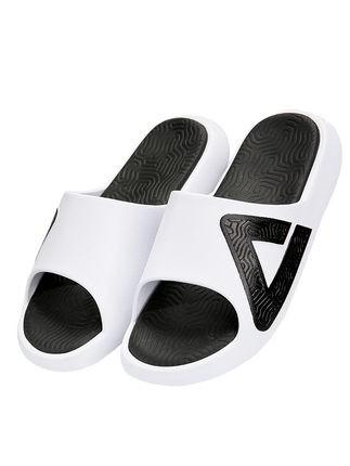 匹克 态极拖鞋 男女情侣鞋夏季凉拖鞋运动拖鞋 夏季新款 潮流沙滩拖鞋 大白