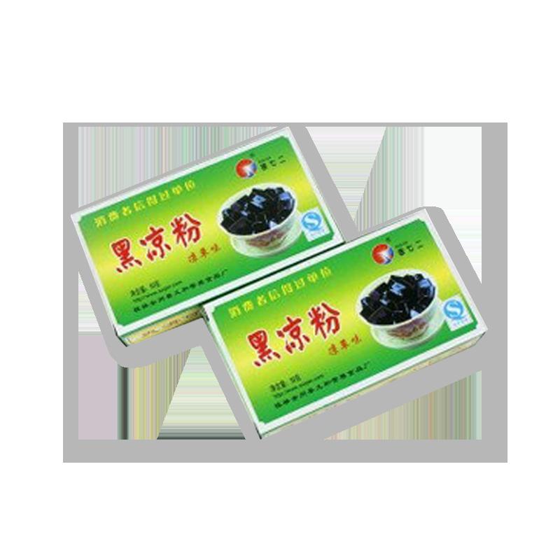 徐七二 黑凉粉烧仙草粉仙草冻龟苓膏自制凉粉专用粉原料 200g