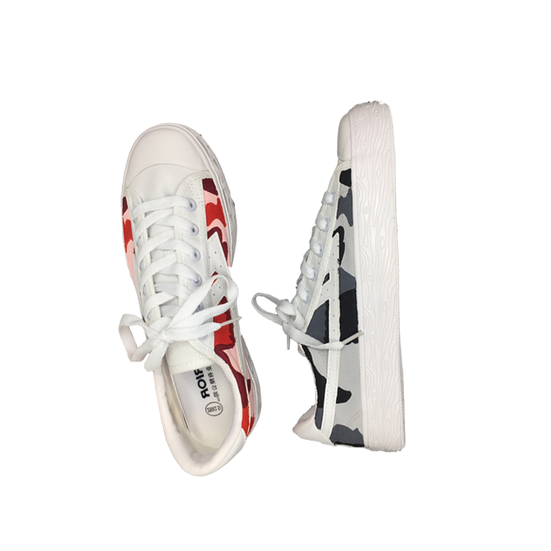 [Coke Cooperation] Back to the sky force back to join forces off custom white limited number of camouflage shoes