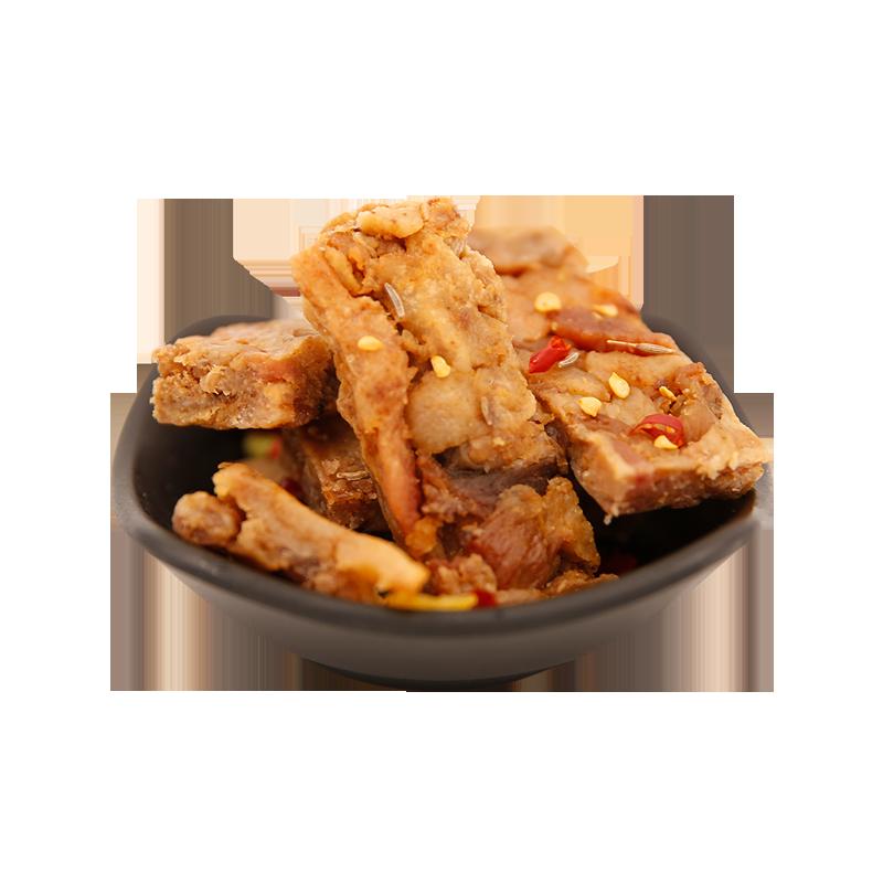 野食小哥 香酥猪油渣猪肉条 240g 温州特产 脂渣五花肉粕肉渣小吃小零食