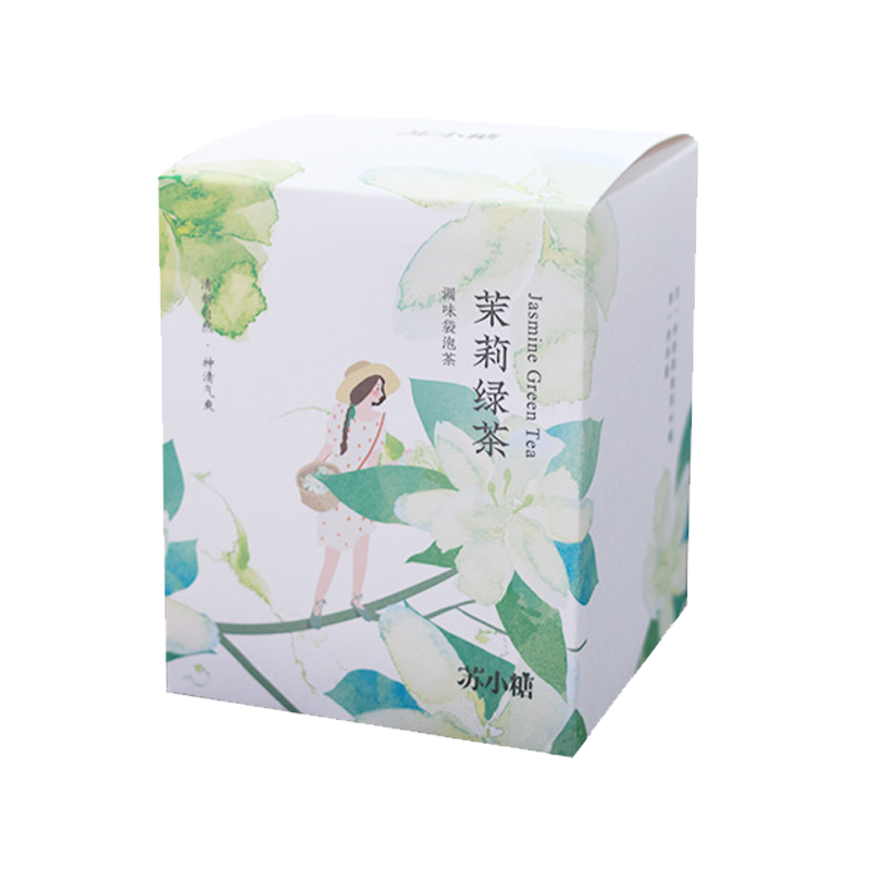 苏小糖 茉莉绿茶花茶礼盒 茉莉绿茶茶包花草味袋泡花草茶3g/7包