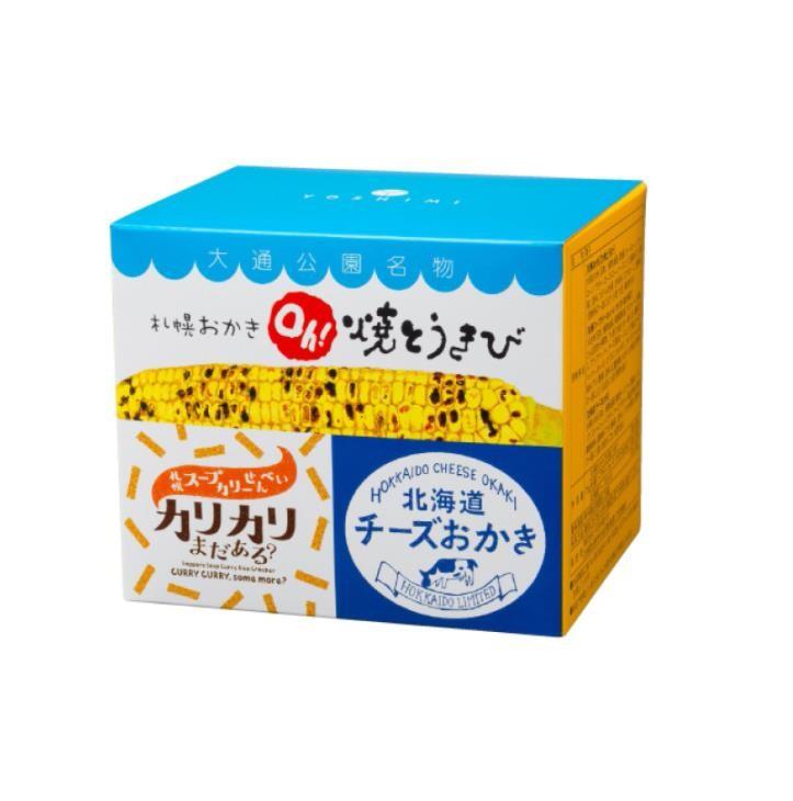【日本直邮】北海道限定YOSHIMI 三种口味组合装仙贝 米果 4袋装