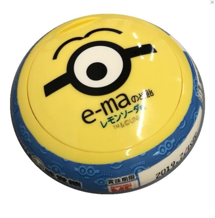 【日本直邮】UHA味觉糖 小黄人系列喉糖 柠檬汽水口味 33g