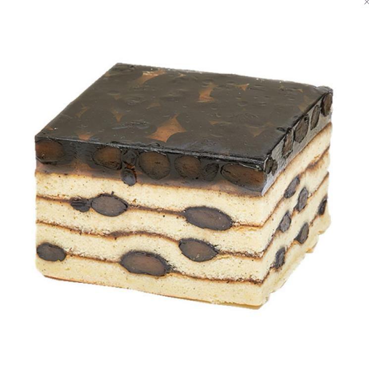 【日本直邮】JUCHHEIM 新年限定 终极黑豆千层蛋糕 1块装