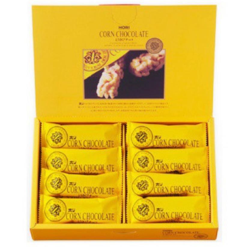 【日本直邮】北海道夕张名物 HORI玉米巧克力棒 16枚装