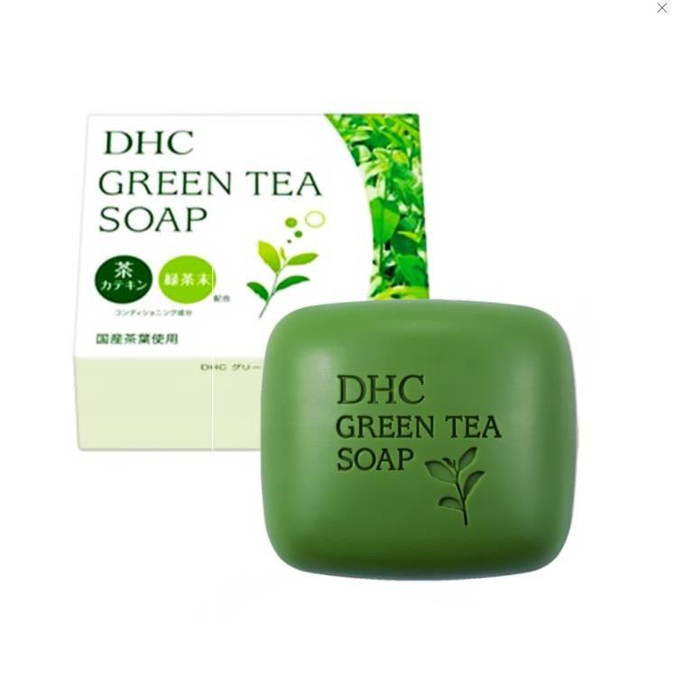 【日本直邮】DHC蝶翠诗 绿茶滋养皂 80g
