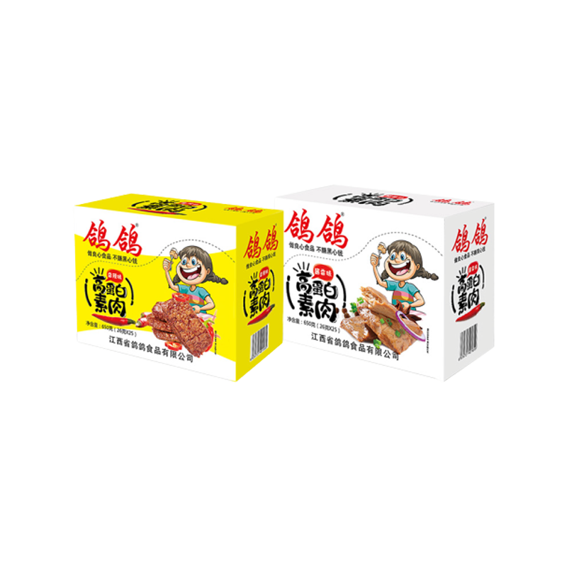 Pigeon pigeon protein meat artificial meat shredded bean products dried bean curd