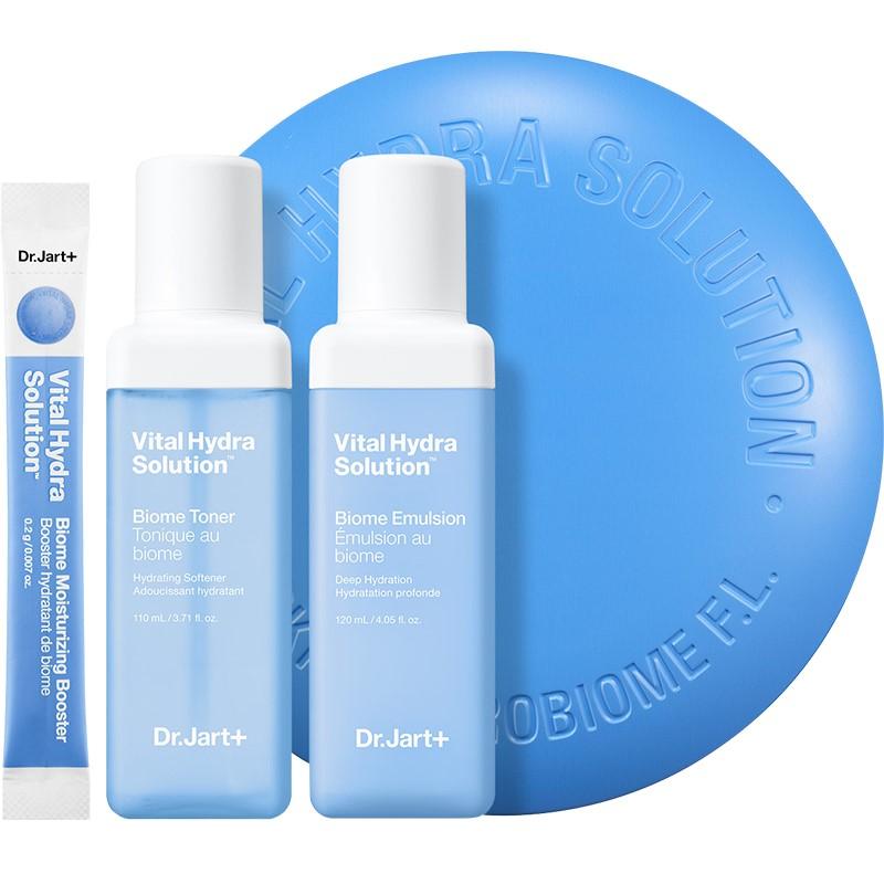 DR.JART+活力水润肌肤护理水/乳/精华粉剂套盒