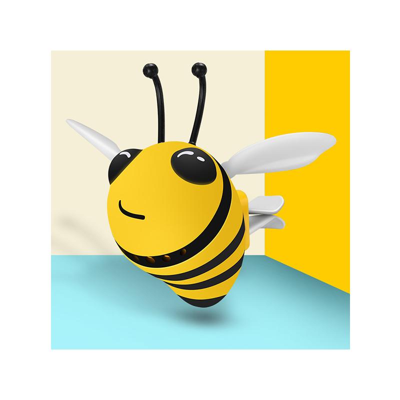 可爱小蜜蜂车载空调出风口