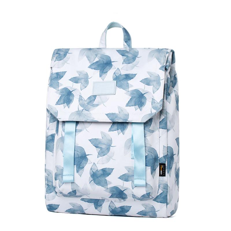 Mr.ace Homme双肩包女韩版高中学生书包15寸大容量电脑背包旅行包