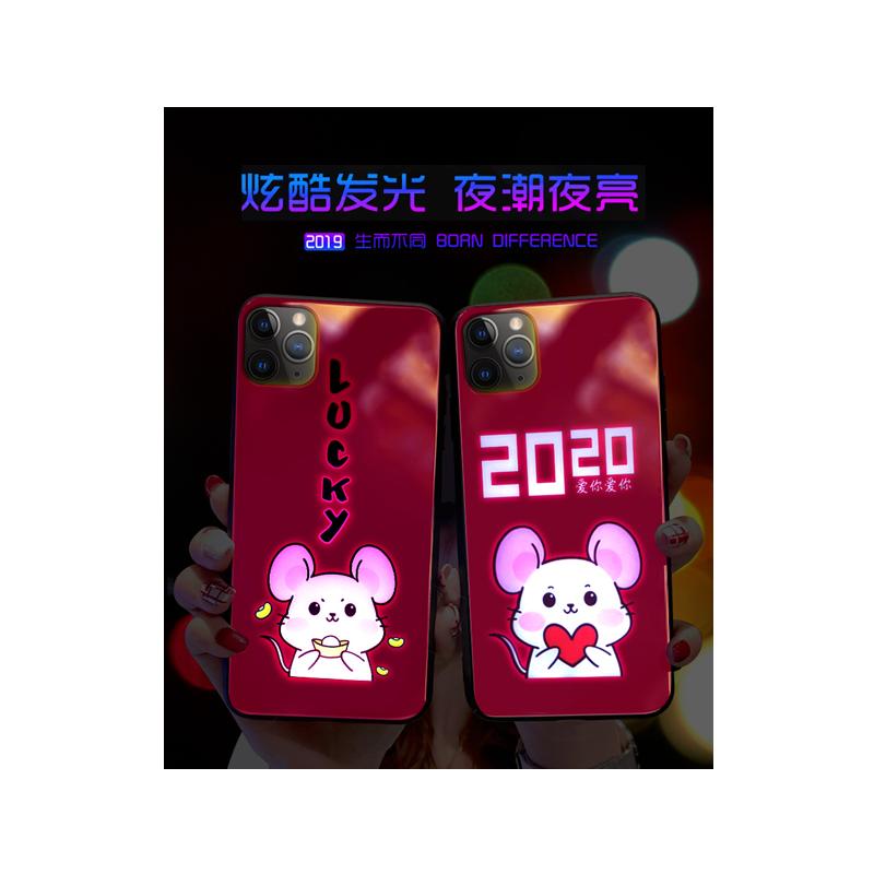 iphone7/8来电发光手机壳