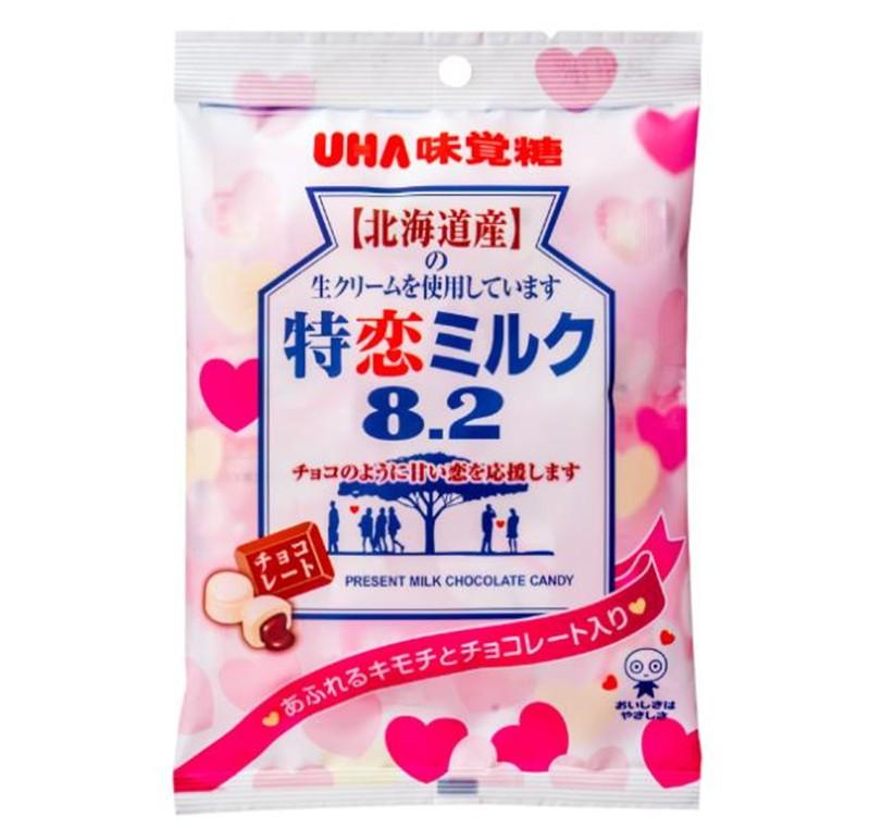 【日本直邮】日本悠哈/UHA味觉糖 蜜之恋特浓牛奶糖8.2北海道产奶油使用 105g