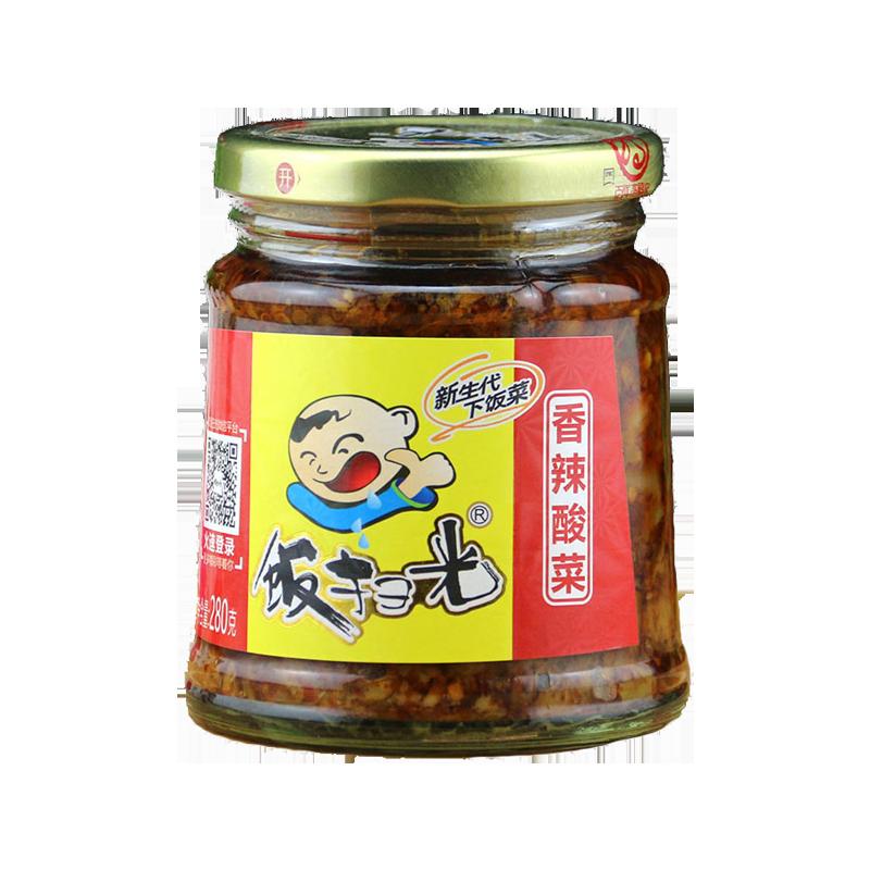 饭扫光 新生代下饭菜 香辣酸菜 280g