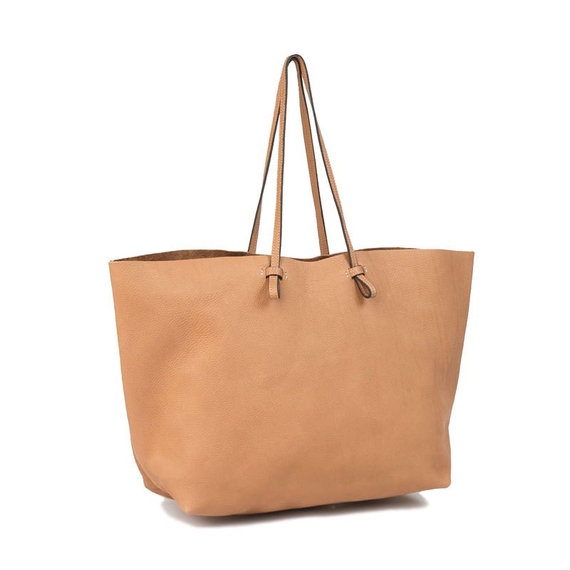 帕挲罗帝/pashaluodi 牛皮购物袋手提简单实用女大包包