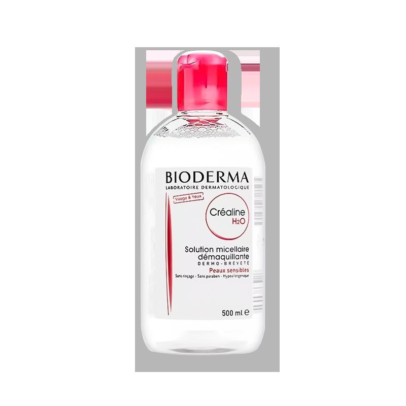 【新人专享】法国BIODERMA贝德玛 舒妍洁肤液卸妆水 粉水保湿温和 500ml