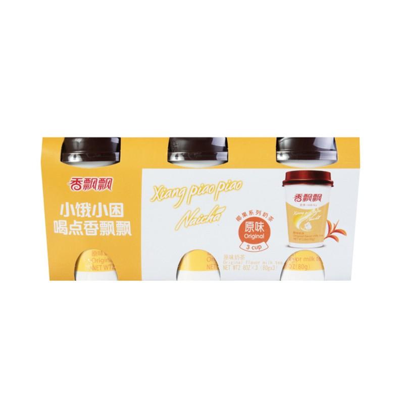 香飘飘 椰果系列 原味奶茶 80g*3连杯