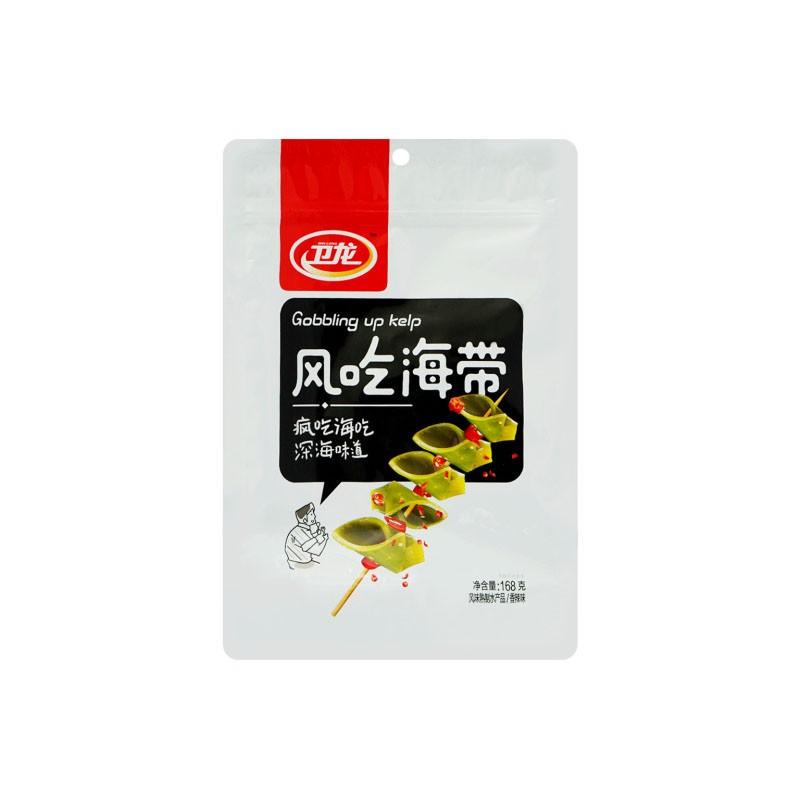 卫龙 风吃海带 香辣味 168g