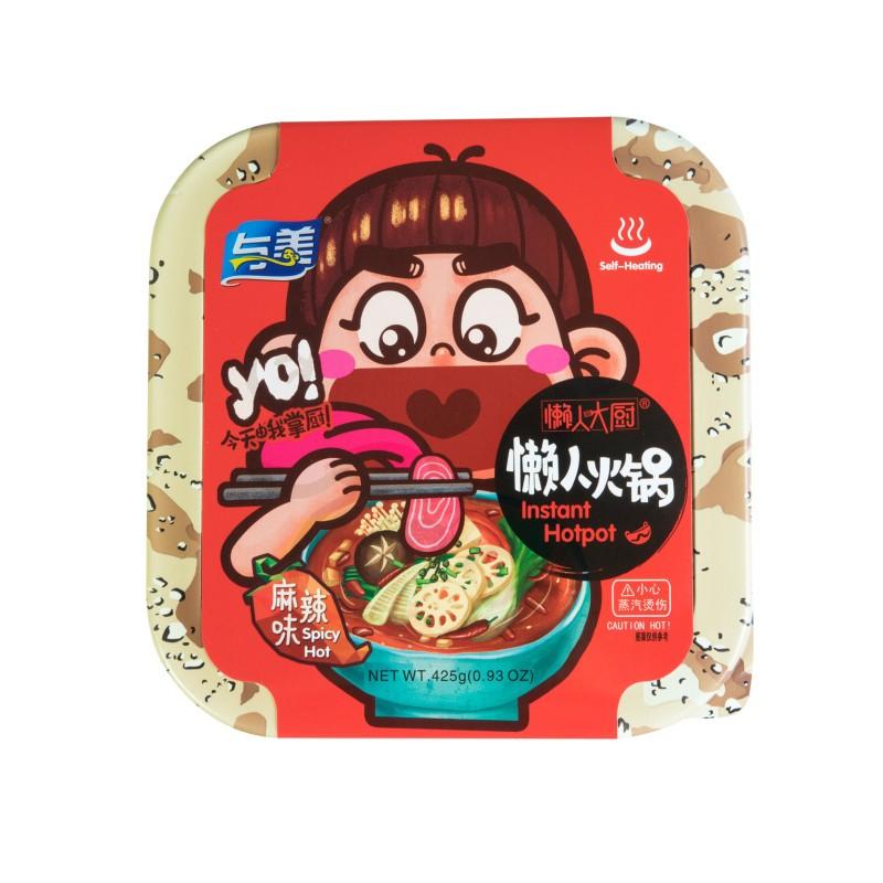 与美 懒人大厨 自加热火锅 麻辣味 425g