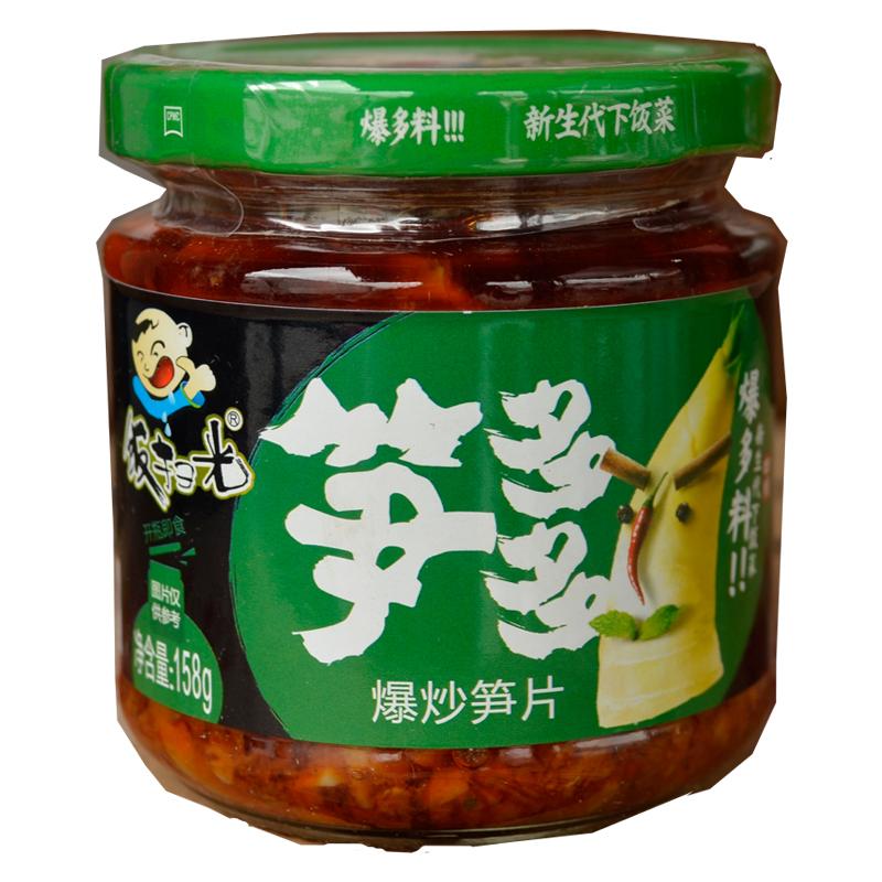 饭扫光 新生代下饭菜 笋多多 爆炒笋片 158g
