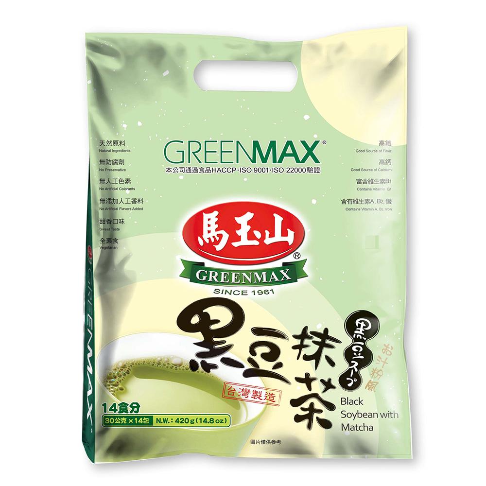 马玉山 黑豆抹茶 420g