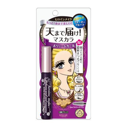 日本KISS ME 花漾美姬睫毛膏 防水防晕自然卷翘 单支入 浓密型