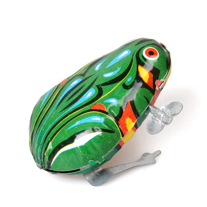 儿时玩具 铁皮青蛙 跳跳蛙