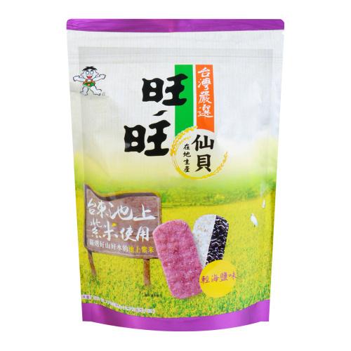 旺旺 紫米仙贝 轻海盐味 78g