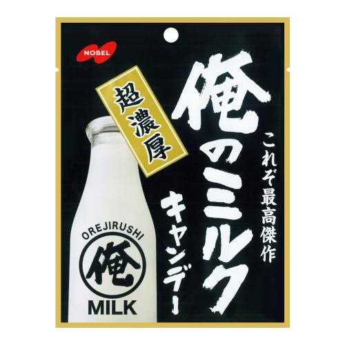 日本NOBEL诺贝尔 我的牛奶超浓厚奶糖 80g