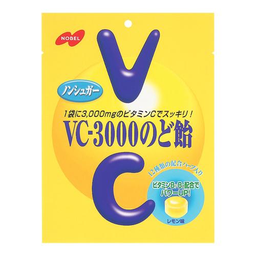 日本NOBEL诺贝尔 VC-3000维生素C补给柠檬糖 90g