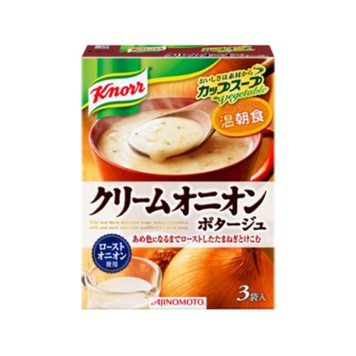 日本KNORR康宝 洋葱蔬菜浓汤汤料 3袋入 53.7g