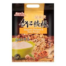 Taiwanese delicious carved nuts drinks almond walnuts 10 wrapped in 330g