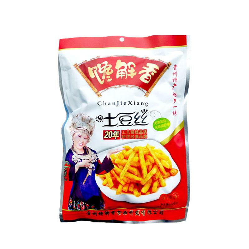 馋解香 麻辣土豆丝 125g 贵州特产