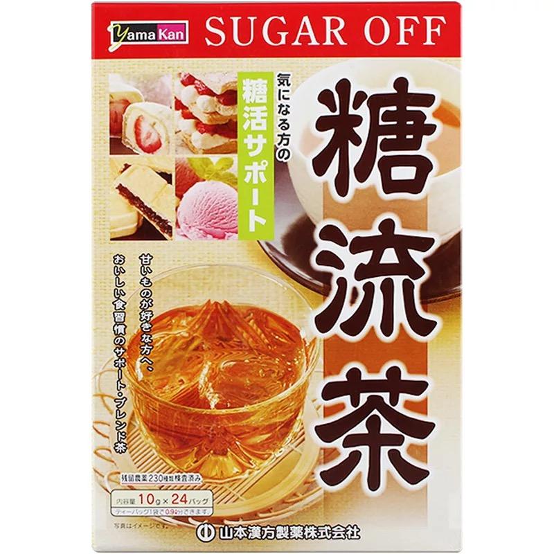 日本山本汉方制药 糖流茶 24包入 240g