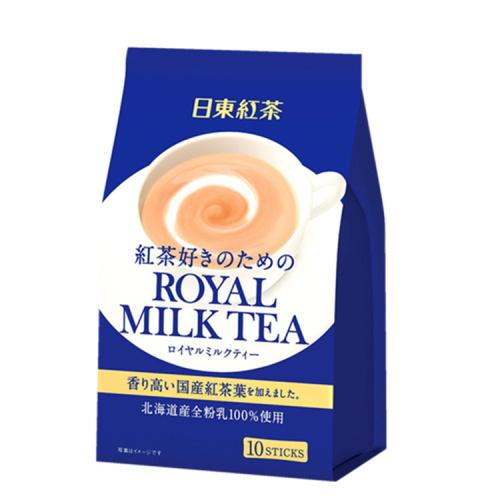 【日本直邮】日东 红茶皇家奶茶醇香奶茶 14g×10条