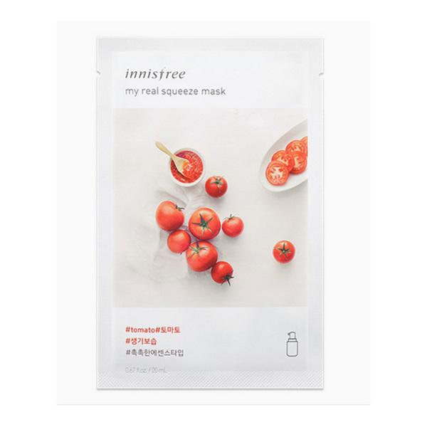 韩国INNISFREE悦诗风吟 新款番茄面膜 单片入