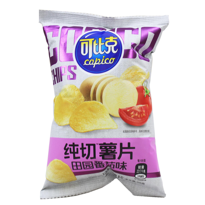 可比克 纯切薯片 30g