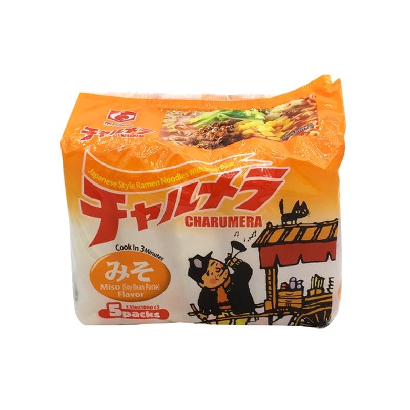 日本MYOJO明星 味增汤面 500g