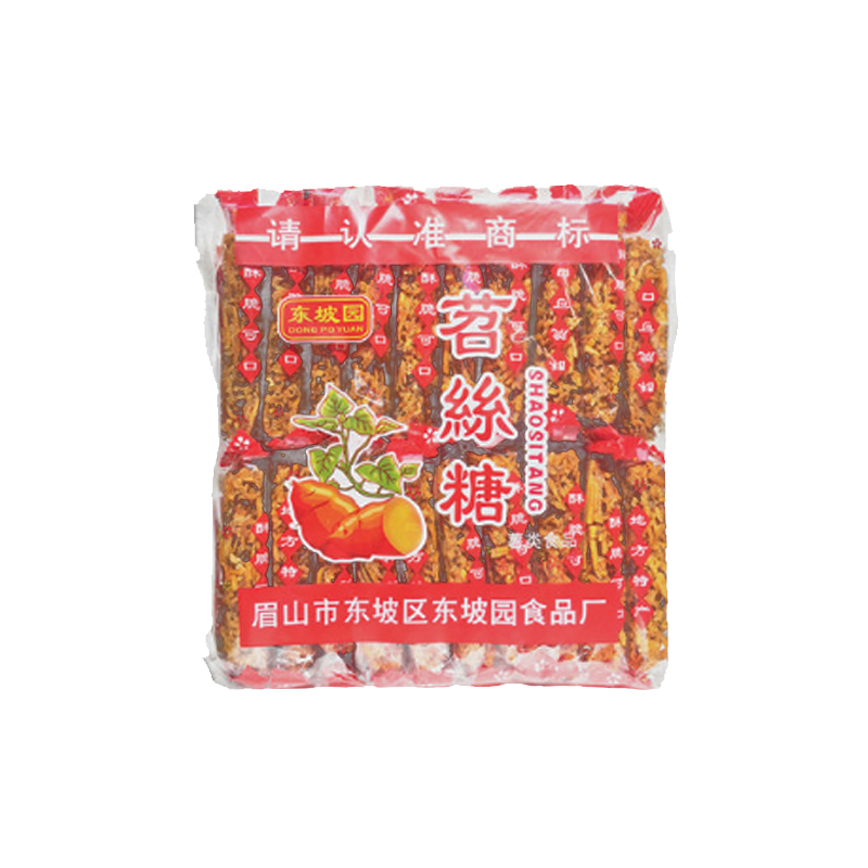 四川特产 东坡园苕丝糖 460g